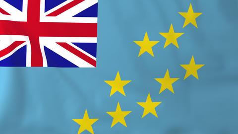 Flag of Tuvalu Animation