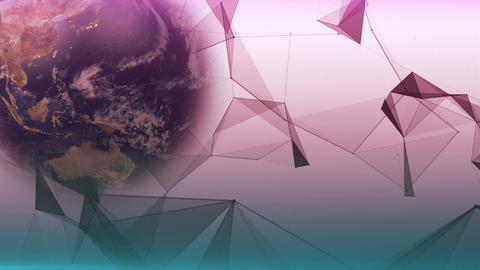 Abstract Earth Background CG動画素材