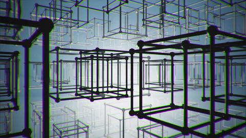 Cubes stock footage