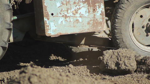 excavation work at construction site Footage