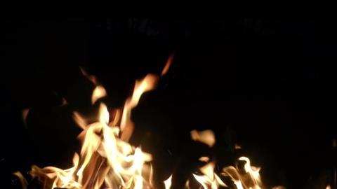 fire bottom Footage