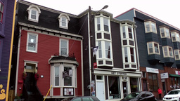 Canada Newfoundland St. John's 004 ordinary Canadian apartment houses Footage