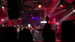 Music Concert In Club 05 stock footage