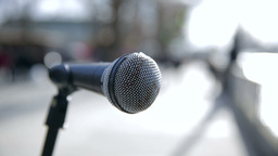 Microphone on the Street Live Action