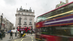 Picadilly circus london time lapse Footage