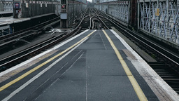 Railway Overground London stock footage