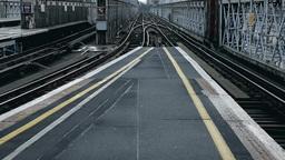 Railway overground London Footage