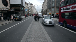 Shaftesbury Avenue London stock footage