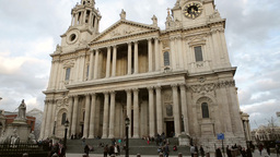 St Pauls Cathedral London Four Footage