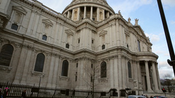 St Pauls Cathedral London One Footage