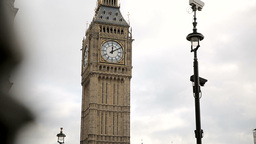 Westminster Tower stock footage