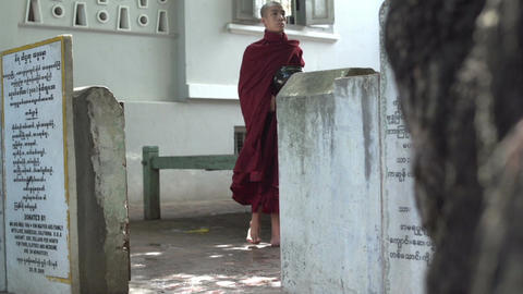 Myanmar Mandalay 0127 Footage