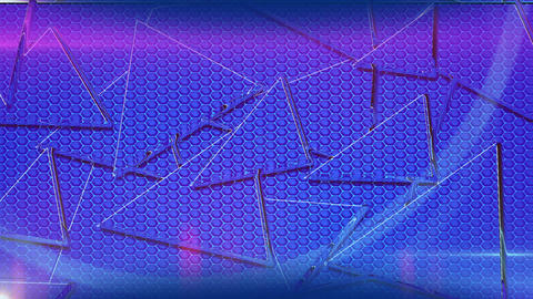 Triangle Abstract Background Animation