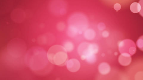 Pink Abstract Lights Bokeh Background Loop CG動画