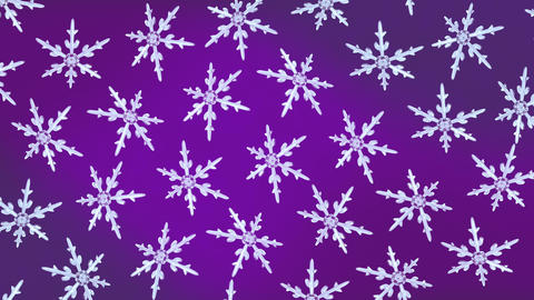 snowflakes background rotation purple Animation