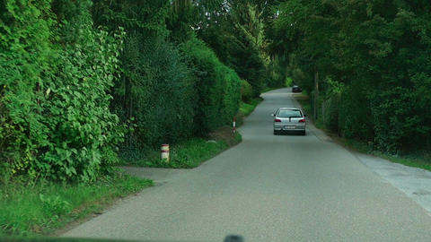 Countryside Road stock footage