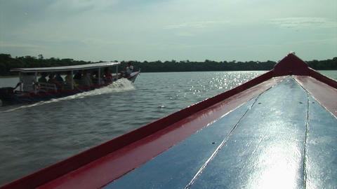 Brazil: travel on Amazon river 8 Stock Video Footage