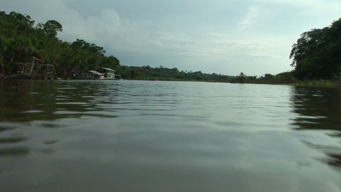 Brazil: travel on Amazon river 14 Stock Video Footage