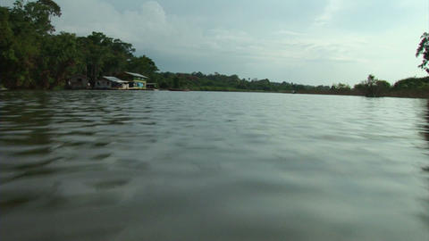Brazil: travel on Amazon river 14 Stock Video Footage