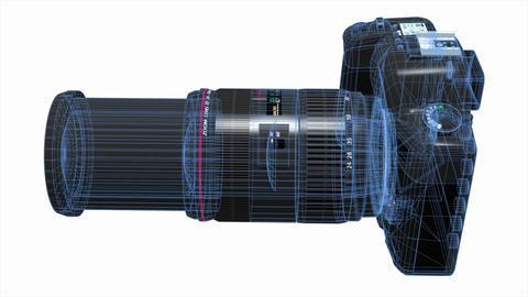 デジタルカメラ Stock Video Footage