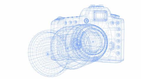 デジタルカメラ Animation