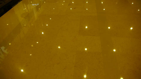 Luxury mall hall,Bright light Stock Video Footage