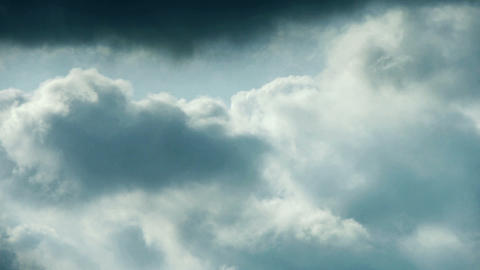 Spectacular clouds cover sky,Altocumulus,dusk Stock Video Footage