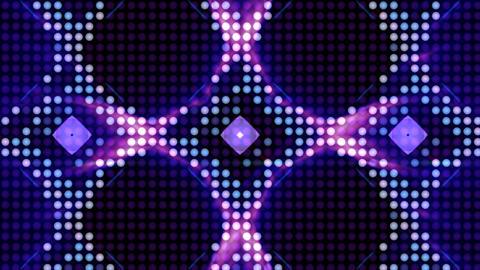 LED Light Kaleidoscope ST B4 HD Stock Video Footage