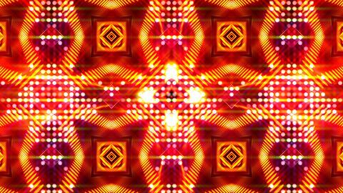 LED Light Kaleidoscope ST D4 HD Stock Video Footage