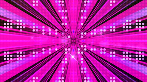 LED Light Kaleidoscope ST A1F HD Stock Video Footage