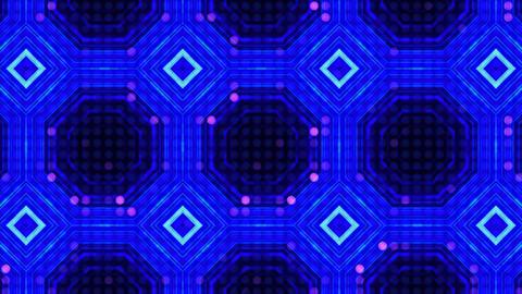 LED Light Kaleidoscope ST A3 HD Stock Video Footage