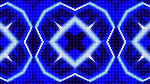 LED Light Kaleidoscope ST B1 HD Stock Video Footage