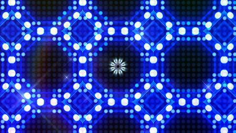 LED Light Kaleidoscope ST B3F HD Stock Video Footage