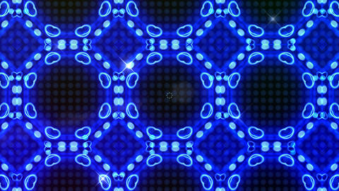 LED Light Kaleidoscope ST B3F HD Animation