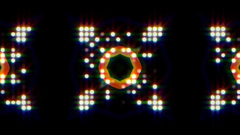 LED Light Kaleidoscope ST E1 HD Animation