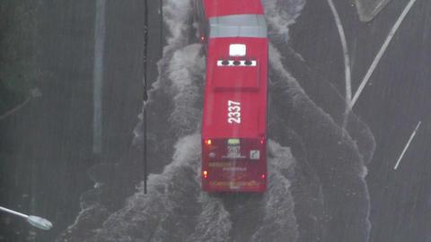 Heavy Rain in Sydney 05 Stock Video Footage