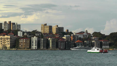 North Sydney view 05 Footage