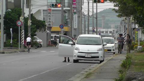 Rural Town Street in Japan 21 Stock Video Footage