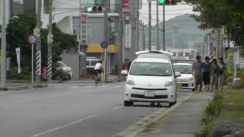 Rural Town Street in Japan 21 Footage