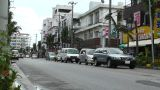 Rural Town Traffic in Okinawa Islands 01 Footage