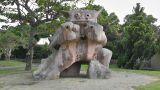 Shiisa Statue Protector of Households Ishigaki Okinawa Islands 02 Footage