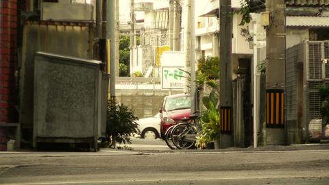 Street in Okinawa Islands stylized 09 Footage