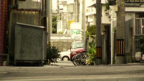 Street in Okinawa Islands stylized 09 Footage