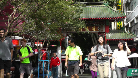 Sydney Chinatown 02 Footage