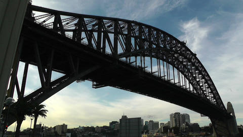 Sydney Harbour Bridge 05 Footage