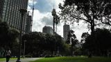 Sydney Hyde Park with Centrepoint Tower 01 Footage