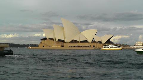 Sydney Opera House 08 ships Footage