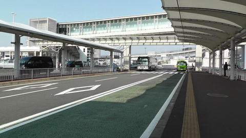 Tokyo Narita Airport 01 Stock Video Footage