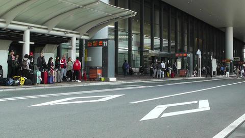 Tokyo Narita Airport 03 Stock Video Footage