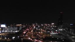 Tokyo Narita Airport at Night 01 Footage